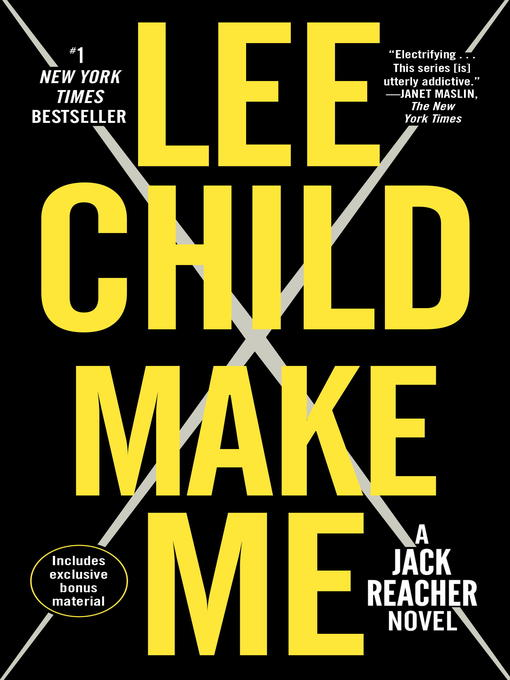 Title details for Make Me by Lee Child - Available